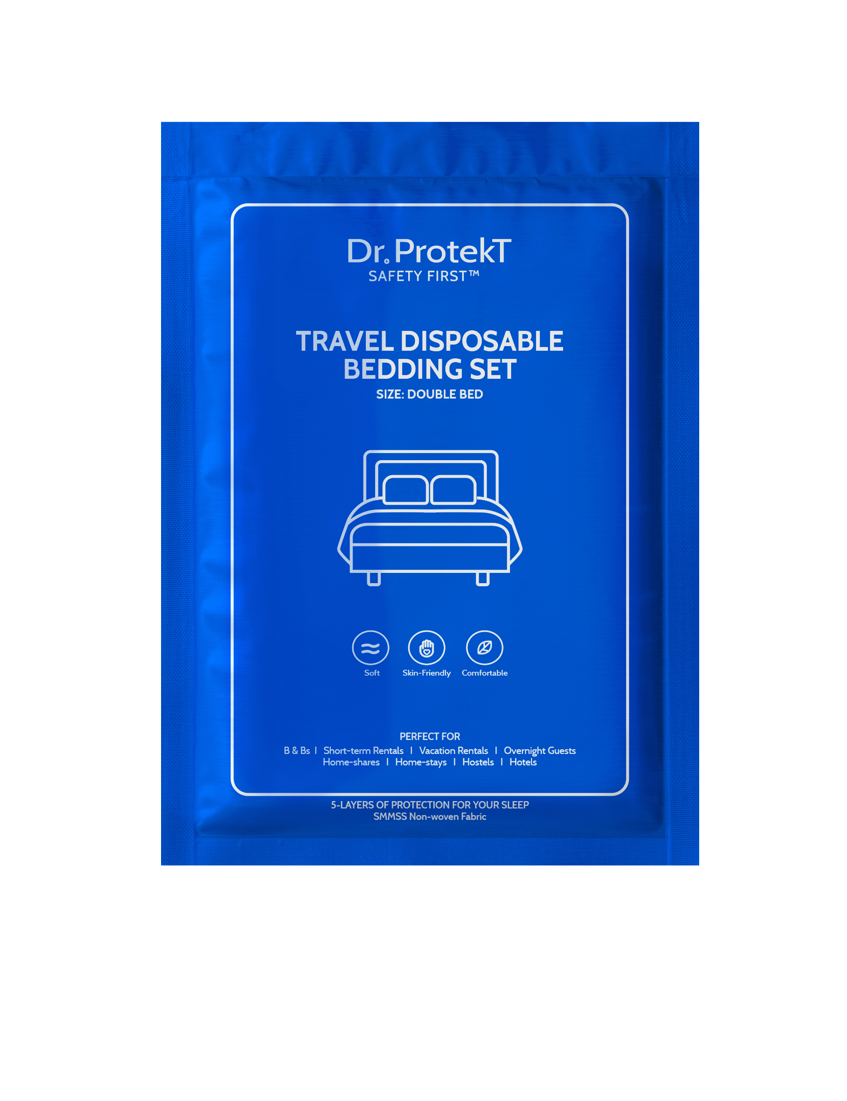 TRAVEL DISPOSABLE BEDDING SET