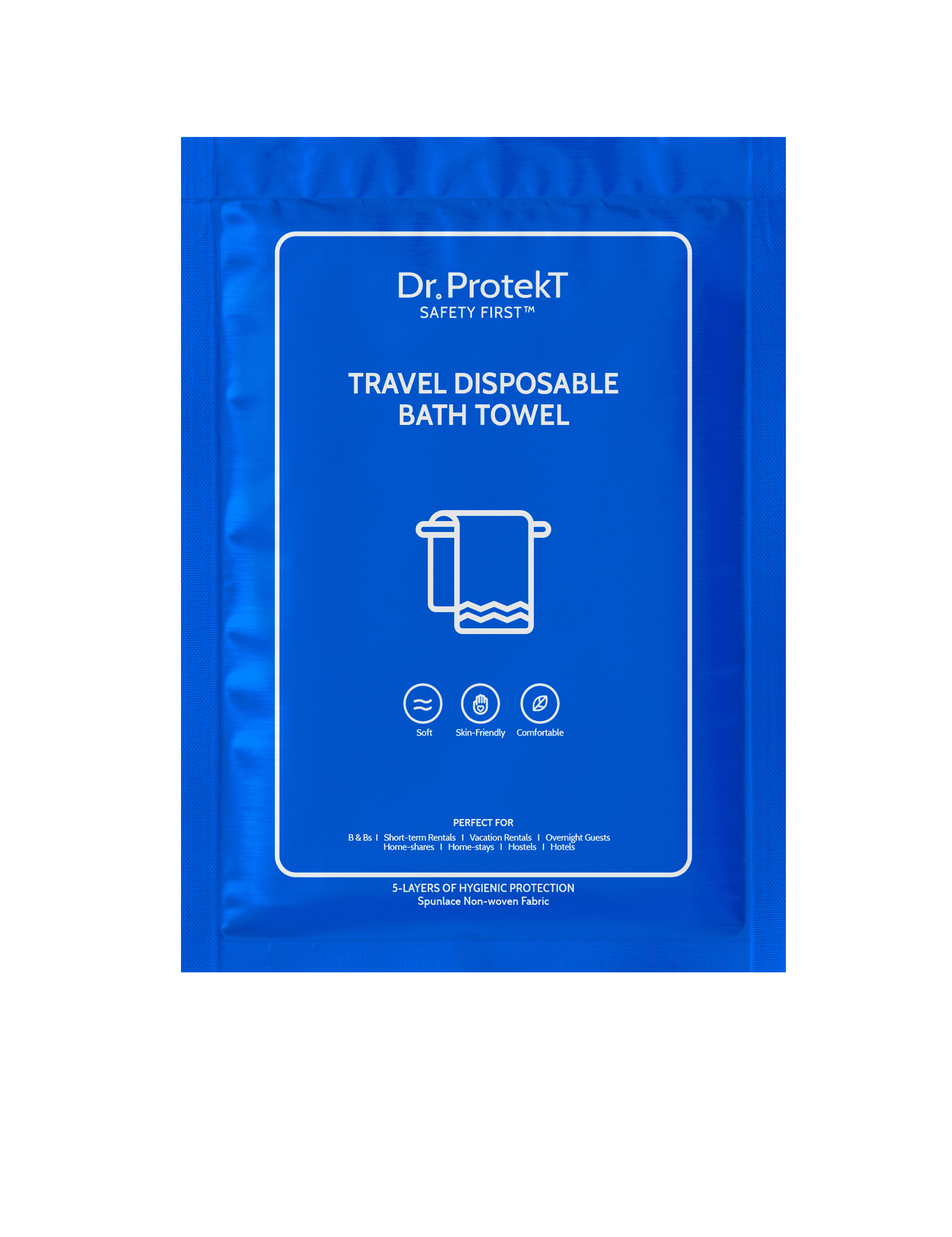 TRAVEL DISPOSABLE BATH TOWEL