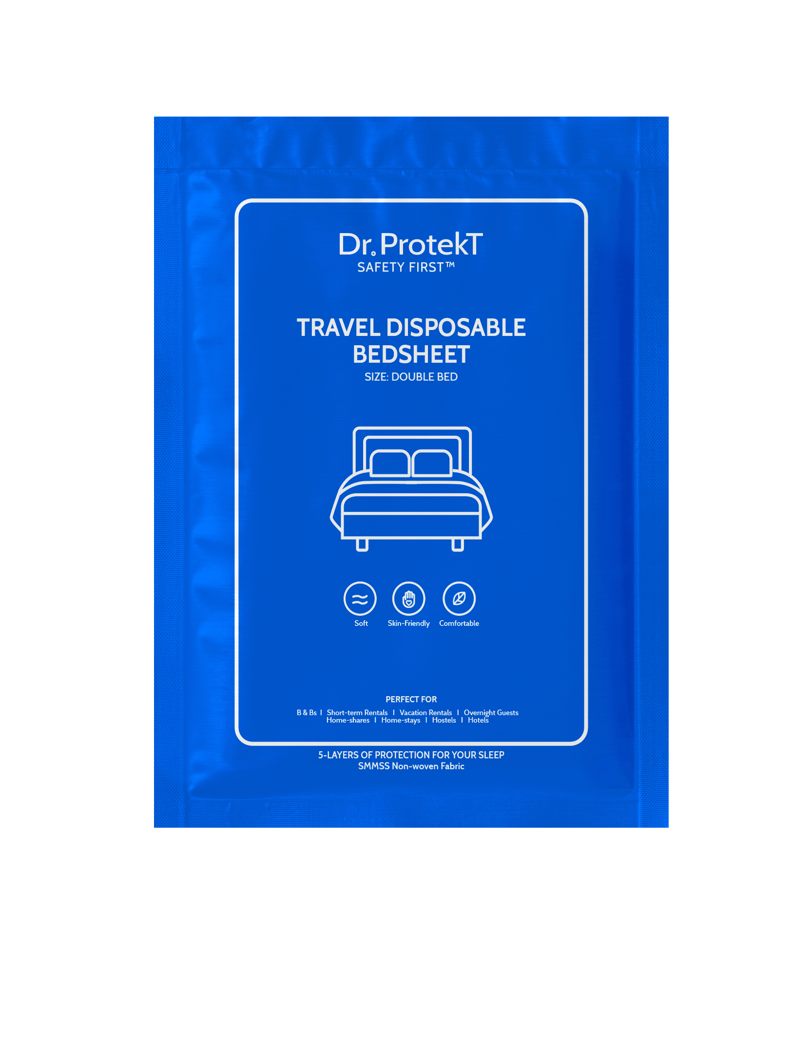 TRAVEL DISPOSABLE BED SHEET
