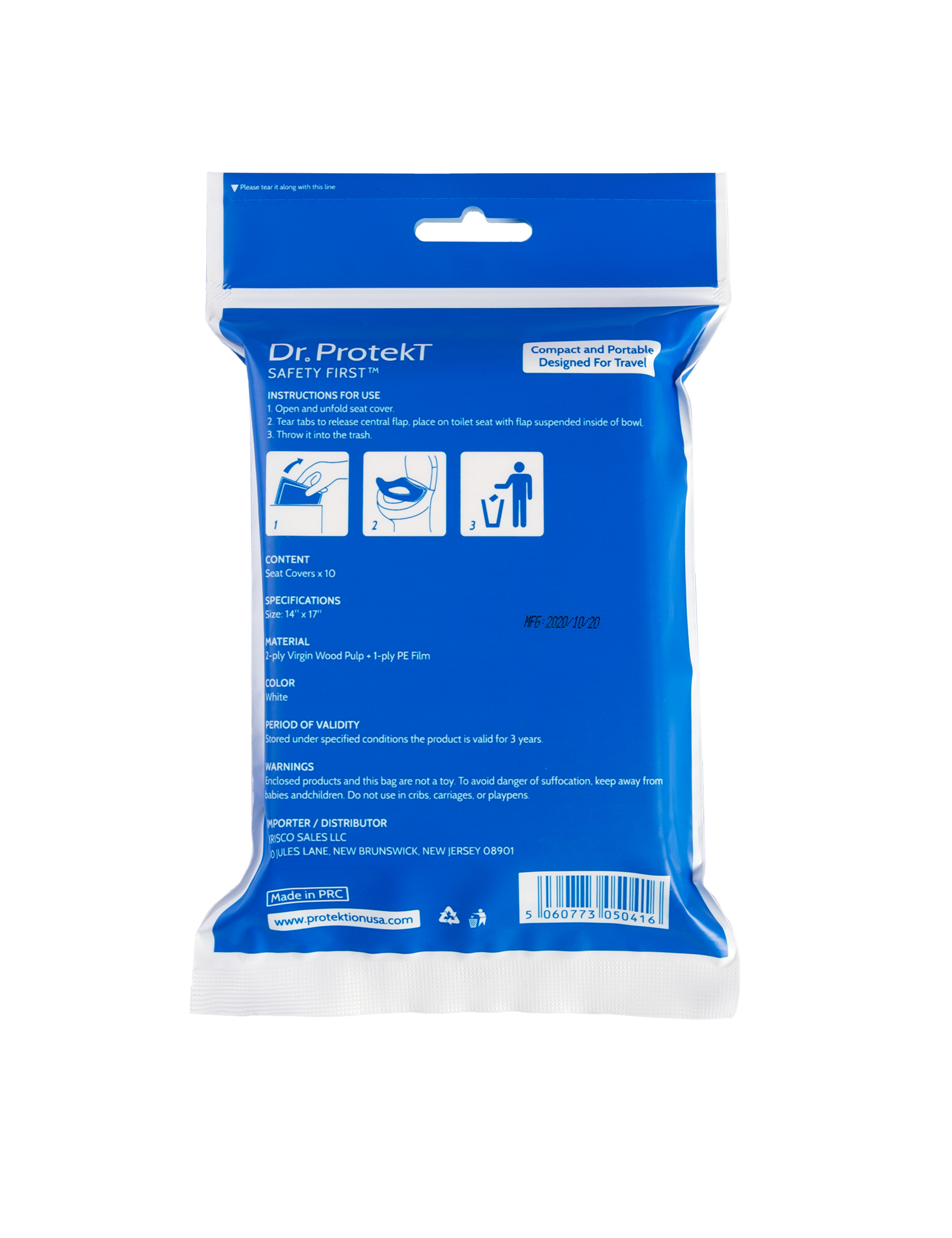 Dr. Protekt Safety First™ Essential Travel Protektion Kit