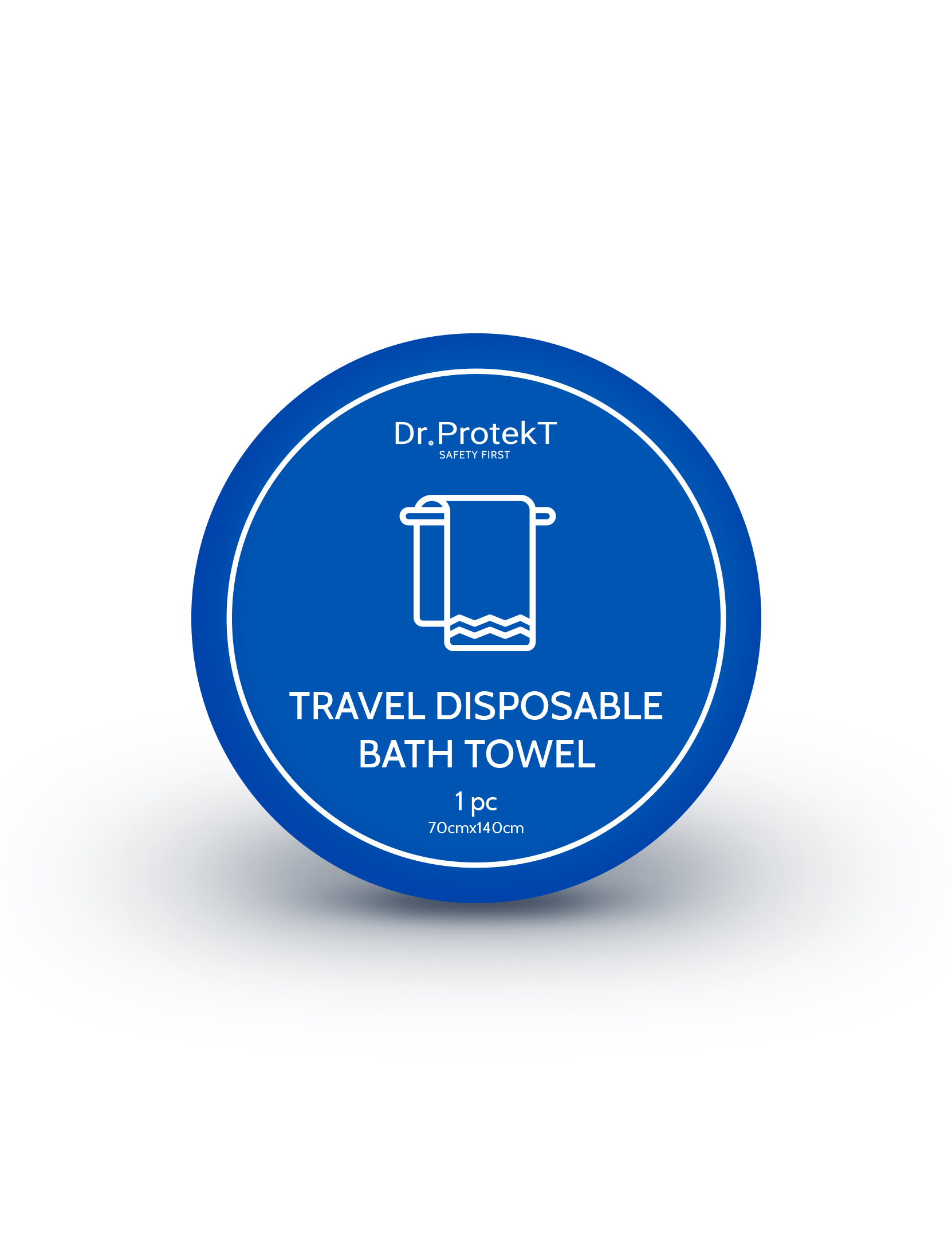 TRAVEL DISPOSABLE COMPRESSED BATH TOWEL