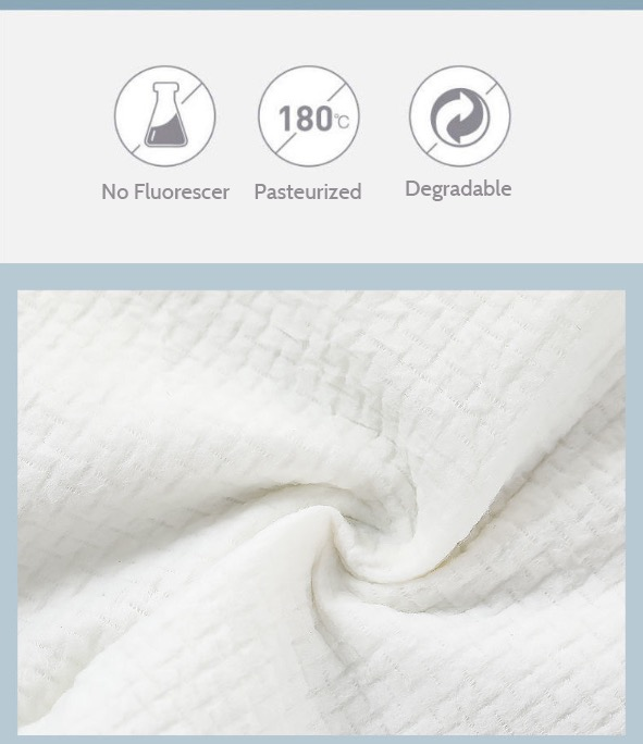 Dr. Protekt Safety First™ Travel Disposable Compress Bath Towel